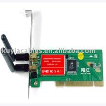 300 Мбит / с 802.11n MIMO адаптер беспроводной локальной сети PCI
