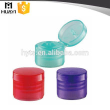 Conteneurs en plastique de 24MM PP flip top cap