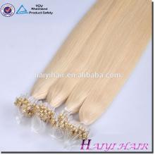 Alibaba Remy Hight Grade Haar 2g Micro Ring Schleife Haarverlängerungen