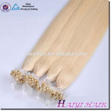 Alibaba Wholesale Remy Hight Grade Hair 2g micro ring loop hair extensions