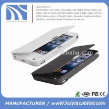 3200mAh Batterie de batterie externe Chargeur de batterie de batterie Accessoires d'iphone pour iPhone 5 5s