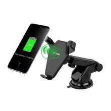 Chargeur de téléphone de voiture de serrage automatique 10w 7.5w