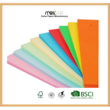 Papier couleur multi-usage 70GSM avec n'importe quelle taille