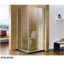 Stahl-hängende Rollen-Scharnier-Duschkabine Wtm-03D26