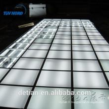 Nouveau système de plancher d'exposition de conception, plate-forme de plancher en bois d'éclairage platfrom