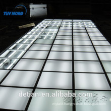 New design exhibition floor system,lighting floor wooden floor platfrom