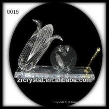 Suporte de caneta de cristal K9