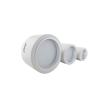 Downlight LED blanco cálido gris de 3W