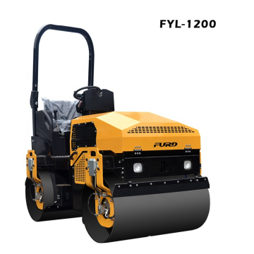 Heavy Capacity 3 Ton 1200mm Drum Width Vibratory Twin Drum Roller