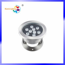 Lumière sous-marine de LED de l'acier inoxydable 9W