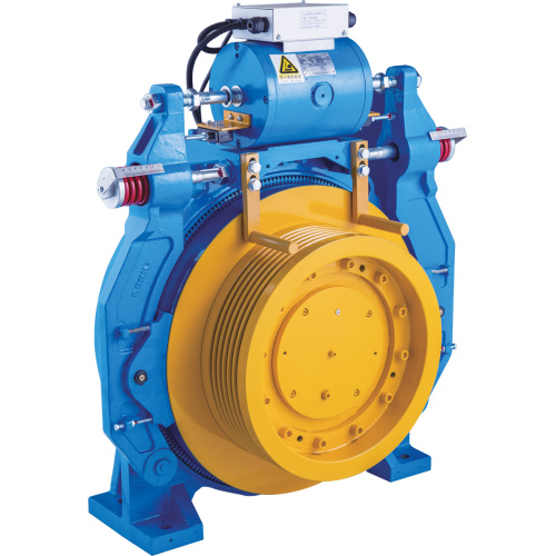 Lift Gearless Traction Machine 3000kg Shaft Load