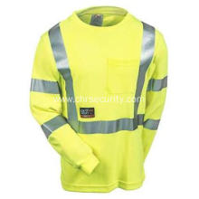 Men's High-Visibility Flame-Resistant Safety Tee Shirt