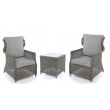 Garten Wicker Outdoor Rattan Freizeit Stuhl Patio Set