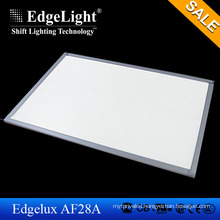 Edgelight CE/ROHS listed AF28A led light photo frame acrylic signs, white/ rgb slim led advertising board frame