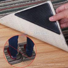 Cojín de alfombra antideslizante lavable del gel suave de la PU Conexión de la alfombra