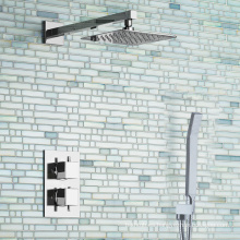 Mezclador de ducha TMV2 y mezclador de ducha termostático oculto