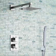 Misturador de chuveiro TMV2 e misturador de chuveiro termostático escondido