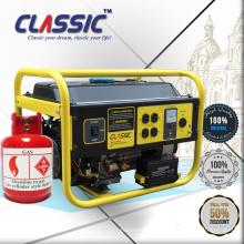 CLASSIC CHINA Generador portátil de doble tensión, Generador de gas de potencia de salida real