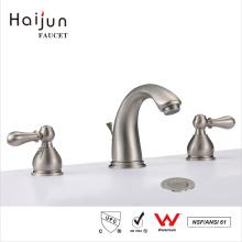 Haijun Super September Purchasing 3 Hole Deck-Mounted Handwash Basin Mixer Faucet