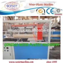 plástico PVC tubulação máquina linha com ISO certificados do CE