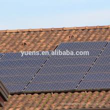 Китай Производство Прочного Солнечной Скатная Крыша Плитка Панели Система Крепления