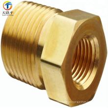 accesorio de niple de tubo de cobre