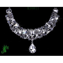 Europe and the United States high-grade of chain. rhinestone yiwu necklace