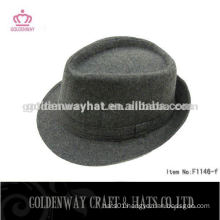 white borsalino wool fedora hat for men