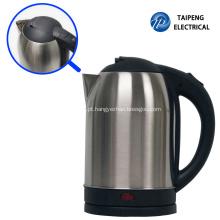 Chaleira elétrica S / S e vaso de chá