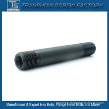 ASTM A193 B7 ponta de alta resistência dupla rosca do parafuso prisioneiro