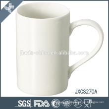X' mas design porcelain coffee mug, super white porcelain mug