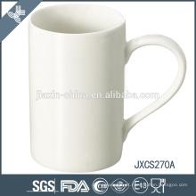 Caneca de café da porcelana do projeto de X 'mas, caneca branca super da porcelana