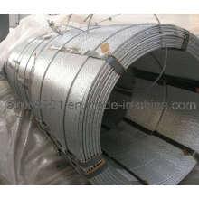 Galvanizado Log Bundling Strand, suporte de fio de aço galvanizado