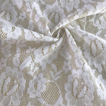 Poly Bonded Lace Fabric gebreid