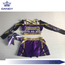 Custom Purple Mystique Cheerleading Clothes