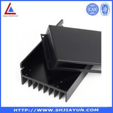 6063 Extrude Shell de Motor de Alumínio Feito como Desenhos