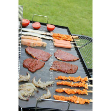PTFE reutilizable resistente antiadherente BBQ Grill Liner