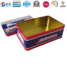 Tin Case Metal Key Storage Box for Key