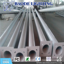 7m Street Lighting Pole with Arm Galvanized Steel Pole (BDP09)