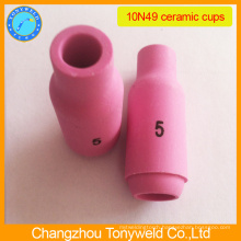10N49 argon ceramic nozzle for tig welding torch
