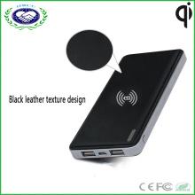 2 порта Быстрый зарядное устройство 5В 2.1A из положить беспроводной зарядное устройство банка для всех смарт-телефон