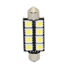 T10 5050 8SMD LED Festoon de voiture