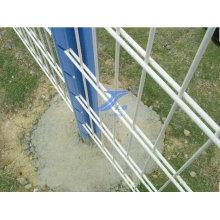 Barrière horizontale de sécurité de haute qualité de fil double
