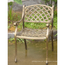 Metall Garten gegossen Aluminium Gartenmöbel Stuhl Set