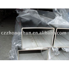 Bright finished square steel tube/rectangular pipe hollow section astm a500