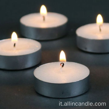 Candela tealight 14g per decorazioni