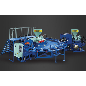 Dua Warna Air-Blowing Injection Molding Machine