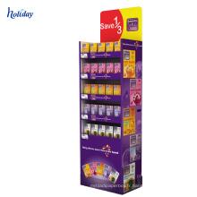 Support d'affichage de chocolat de promotion de carton de boîte d'affichage de chocolat