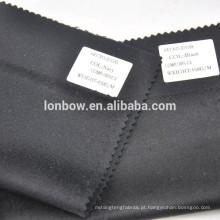 cor preta e marinha em tecido de cashmere 100% puro