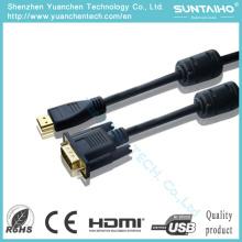2016 OEM nuevo 15pin macho a macho VGA Cable